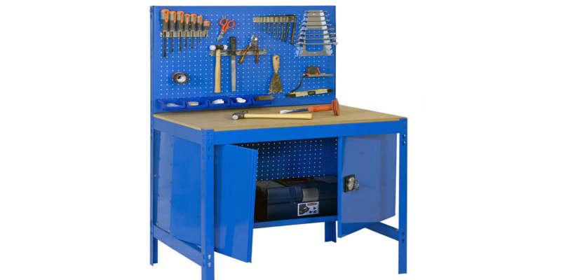 Bando de trabajo metálico azul barato baratos comprar precio precios