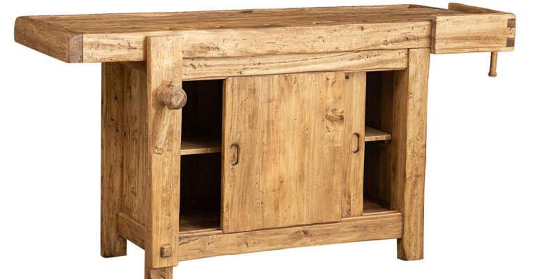 Como hacer un banco de trabajo casero - Como hacer bancos de madera ...